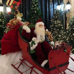 Santa at the Festival